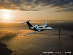 Flight Options Phenom 300
