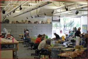 Pottery class at Mesa Arts Center