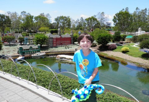 Elliot at LegoLand