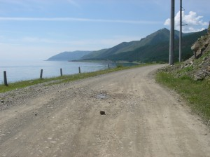 Along the Shore of Lake Baikal