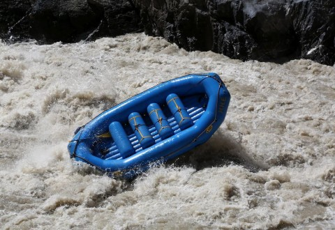 Rafting the Zanskar