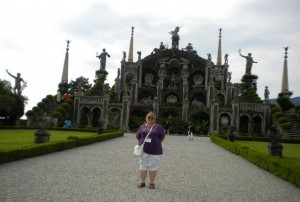 The expansive gardens of Isola Bella are impressive, but there are too many statues!