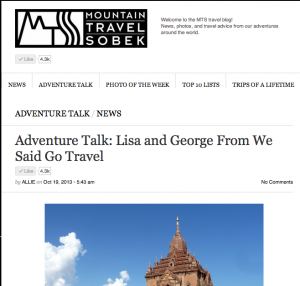 MTS adventure talk