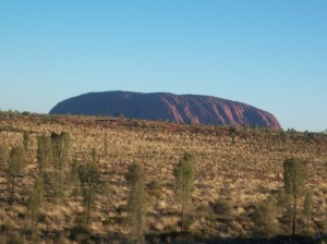 AYERS ROCK. THE WONDER OF NOTHING