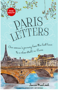 Paris Letters Source Books Janice MacLeod