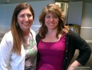 Naomi Wolf and Lisa Niver Rajna