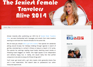 sexiest article 2104 female travelers