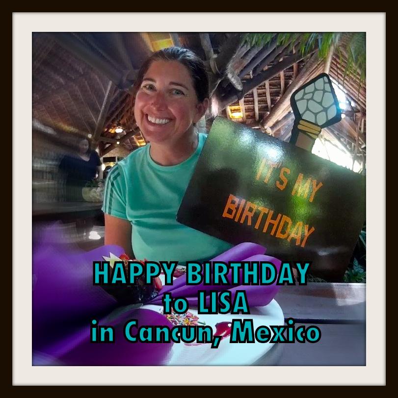 Where did Lisa celebrate her birthday?