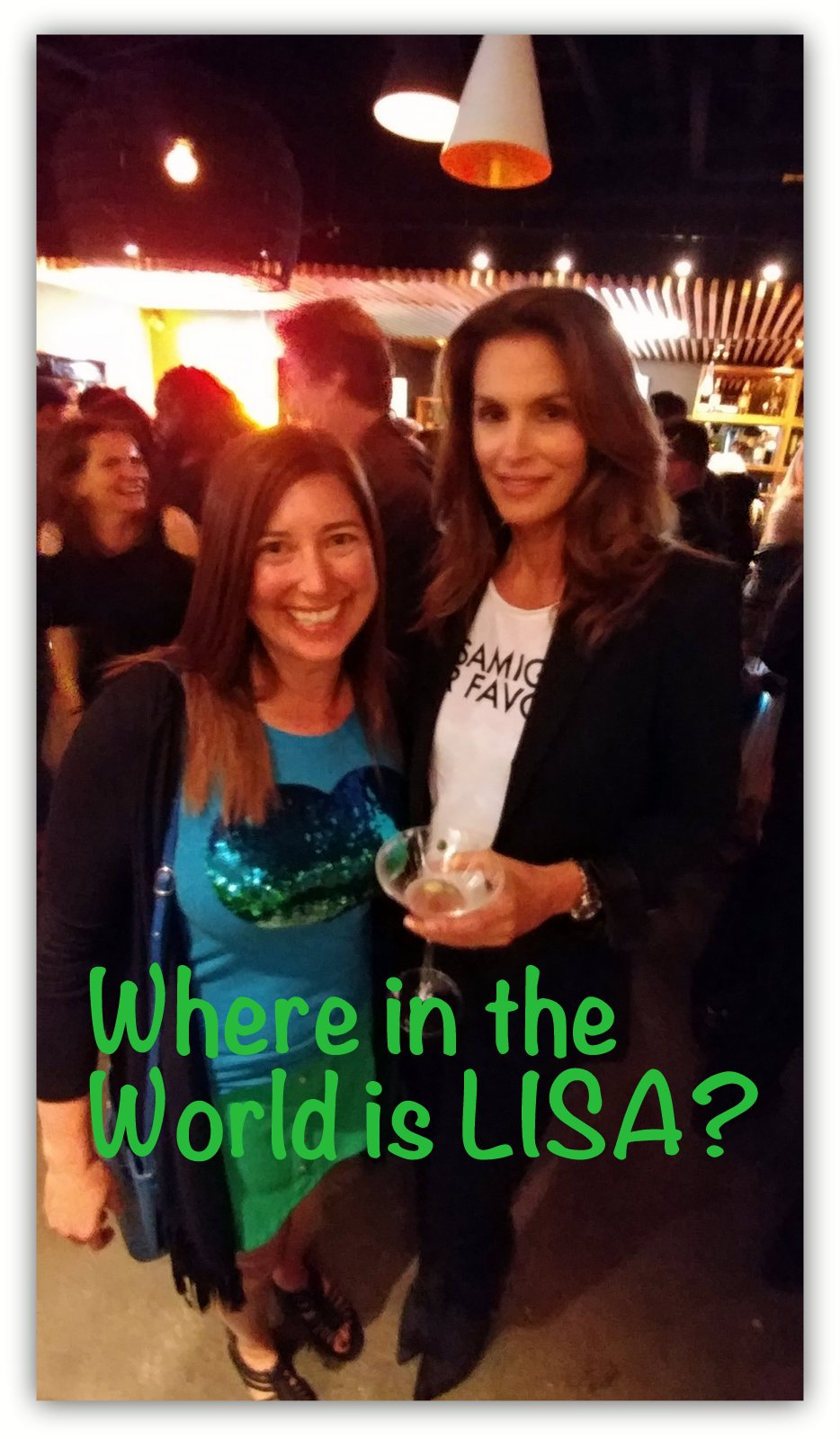 Where in the World is Lisa?