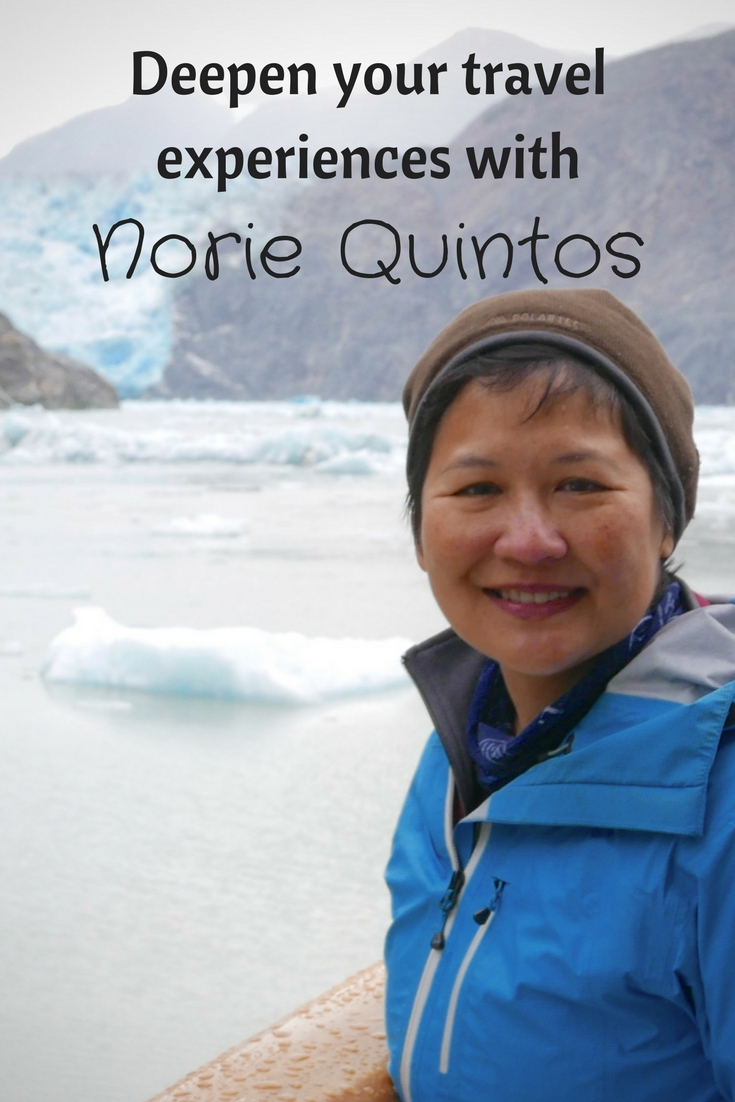 Deepen your travel experiences with National Geographic's Norie Quintos