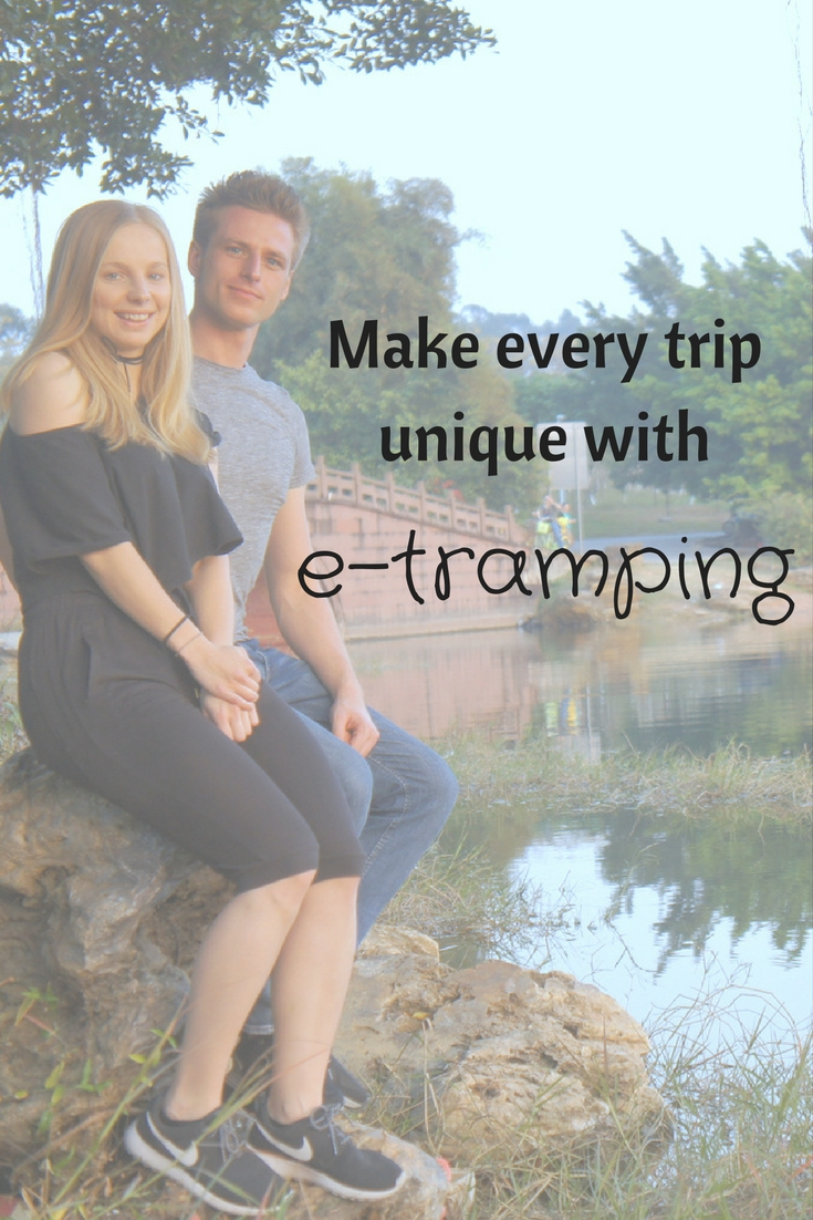 Make every trip unique with Agness and Cez of e-tramping