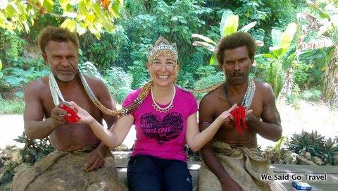 Lisa Niver in the Solomon Islands