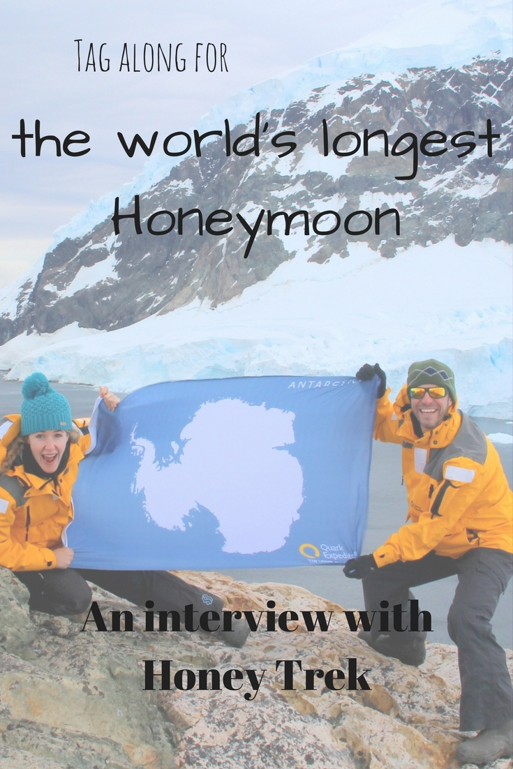Tag along for the world's longest honeymoon with Honey Trek!