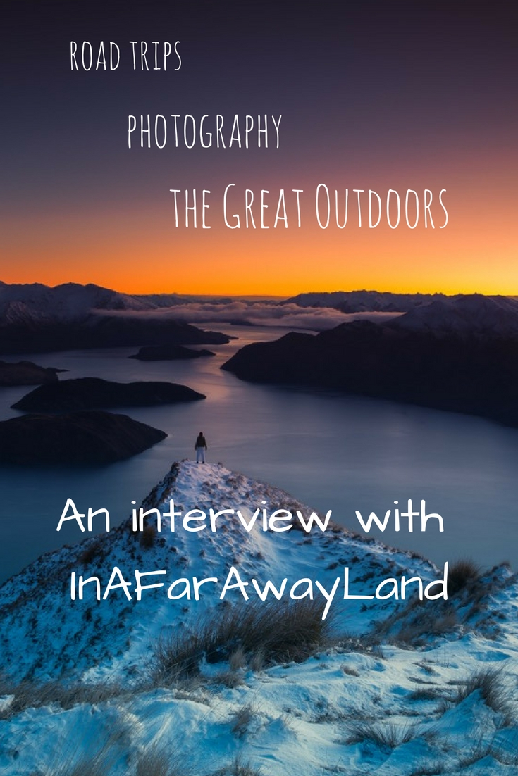 If you like road trips, photography and the outdoors you'll love InAFarAwayLand!