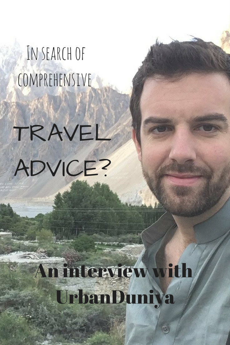 Need the most comprehensive travel advice? Look to UrbanDuniya!