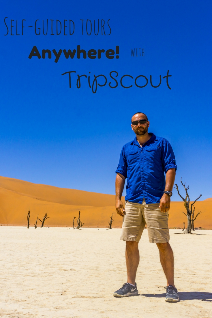 Get local and authentic self-guided tours anywhere with TripScout!