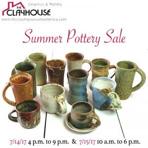 clayhouse summer art sale