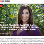 Who did Inquisitr Interview? Lisa Niver