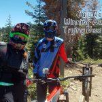 Did Lisa Niver really go Mountain Biking?