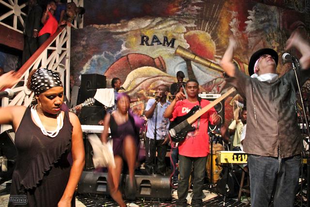 A Vodou Dance in Port-Au-Prince, Haiti