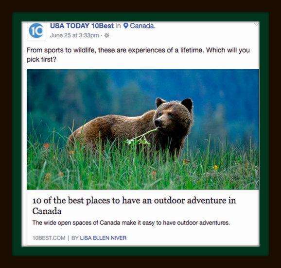10 Outstanding Outdoor Adventures in Canada