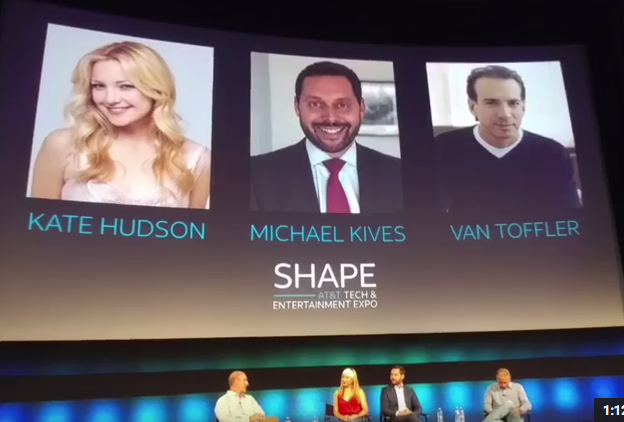 Kate Hudson at AT&T SHAPE
