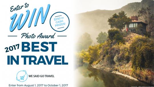 Travel photo award 2017