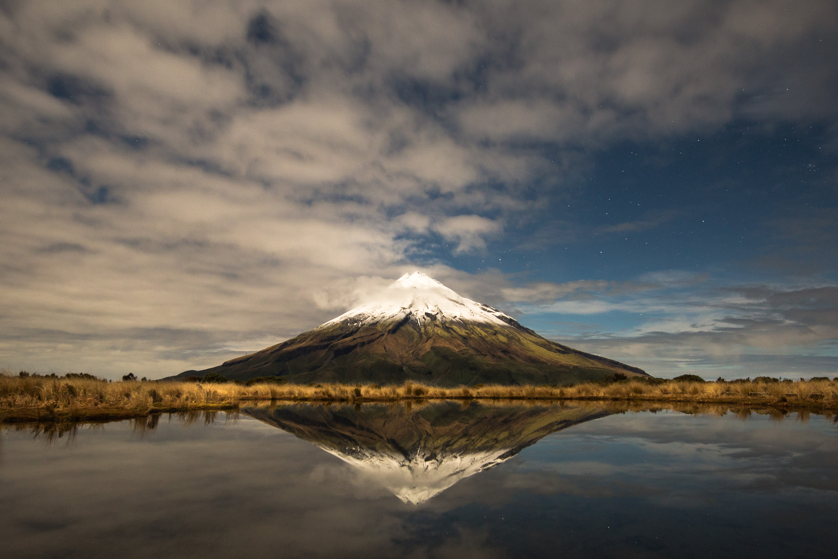 The Struggle that was Mt Taranaki, New Zealand