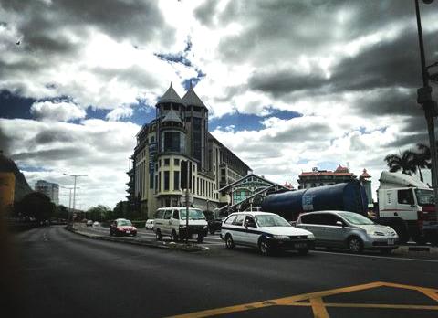 Caudan Waterfront in Mauritius