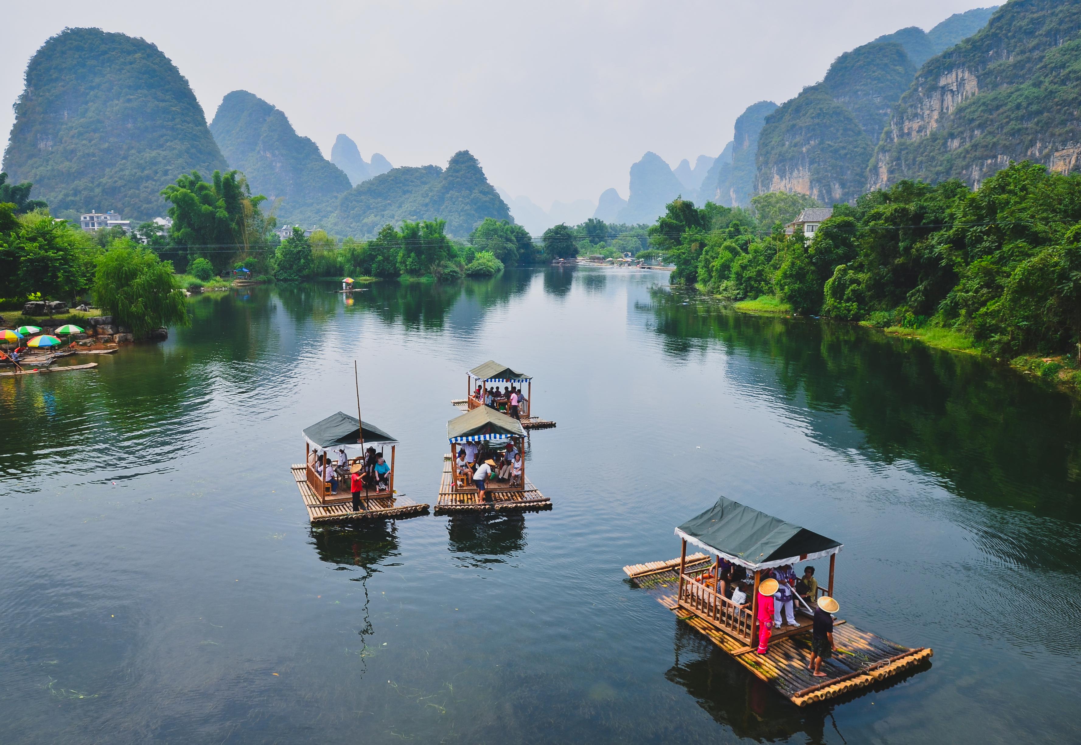 Lifestyle of River Li, China