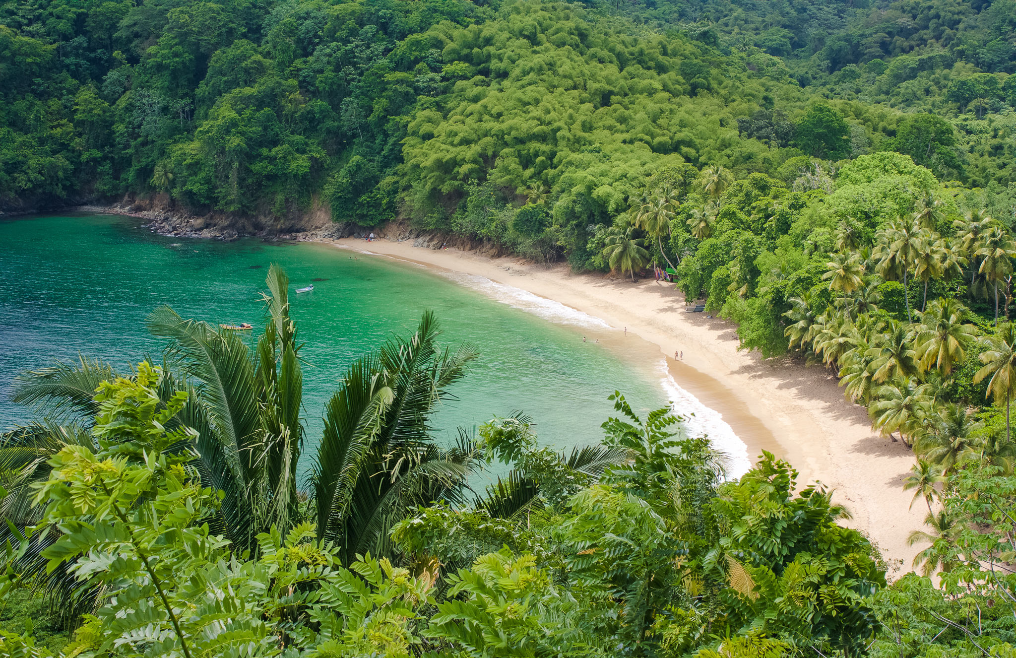 Englishman's Bay in Tobago