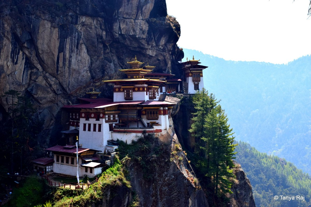 The Sacred Mountains in Bhutan