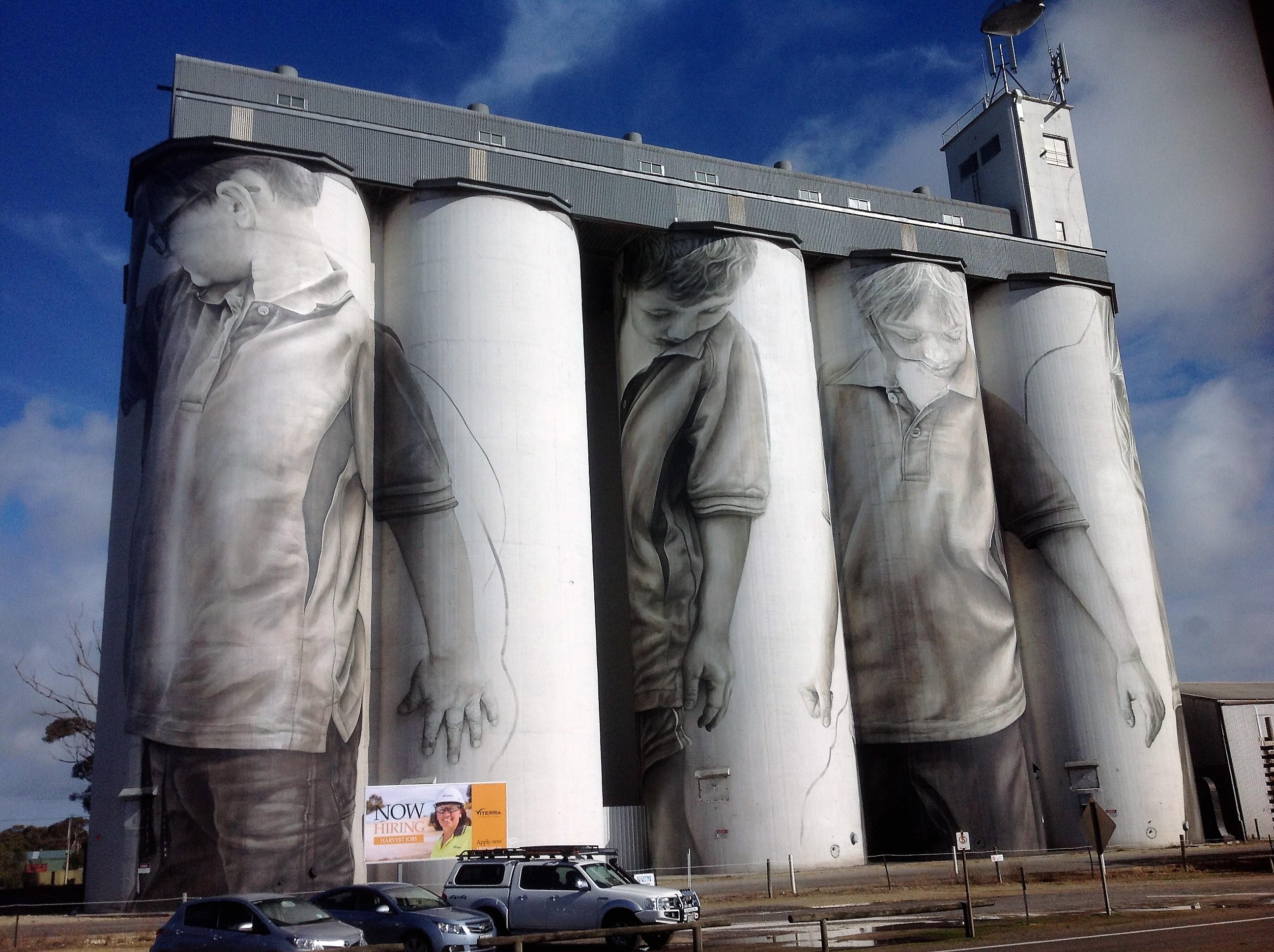Coonalpyn Silo Art in Australia