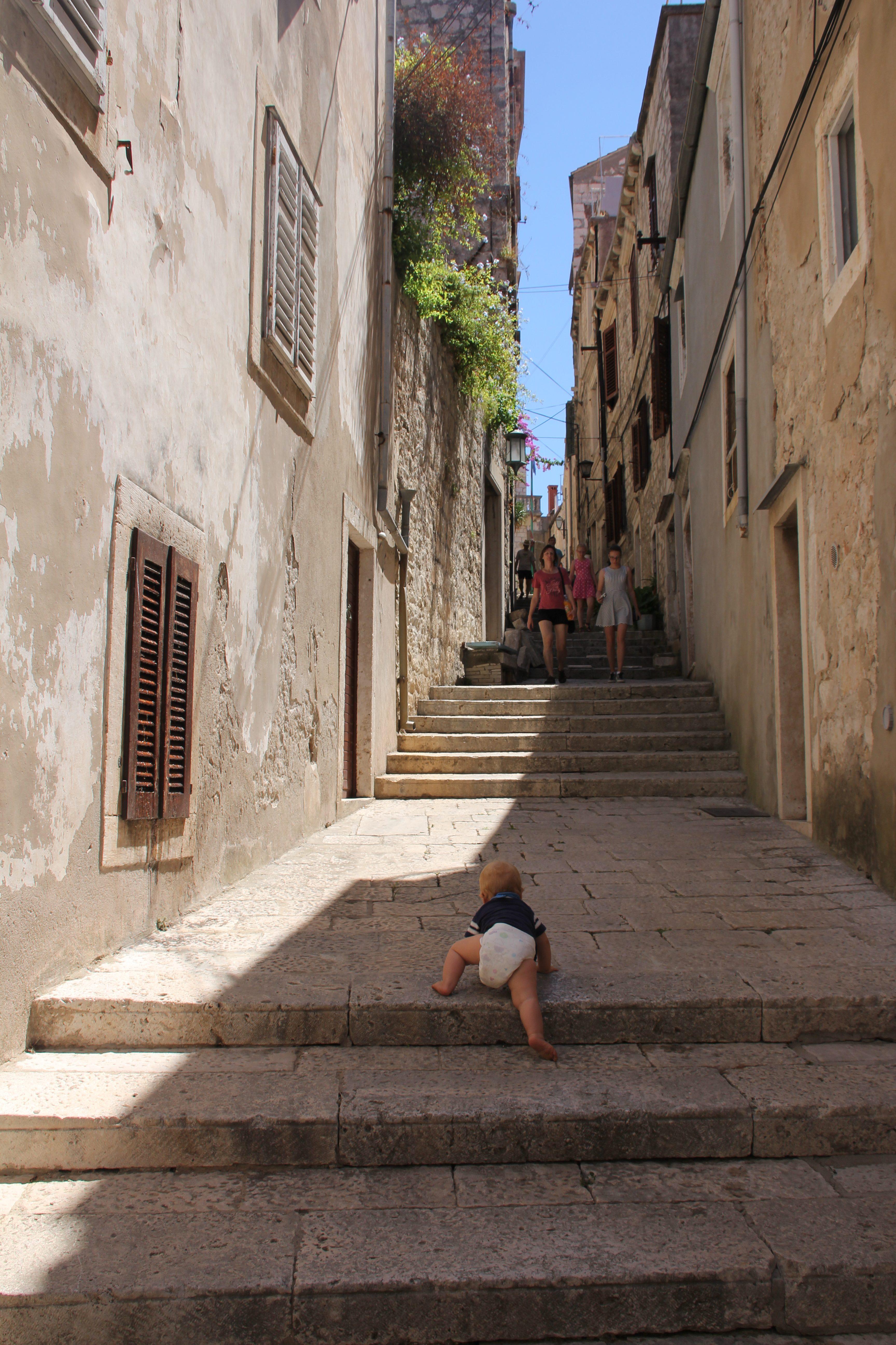 Crawling the World in Croatia