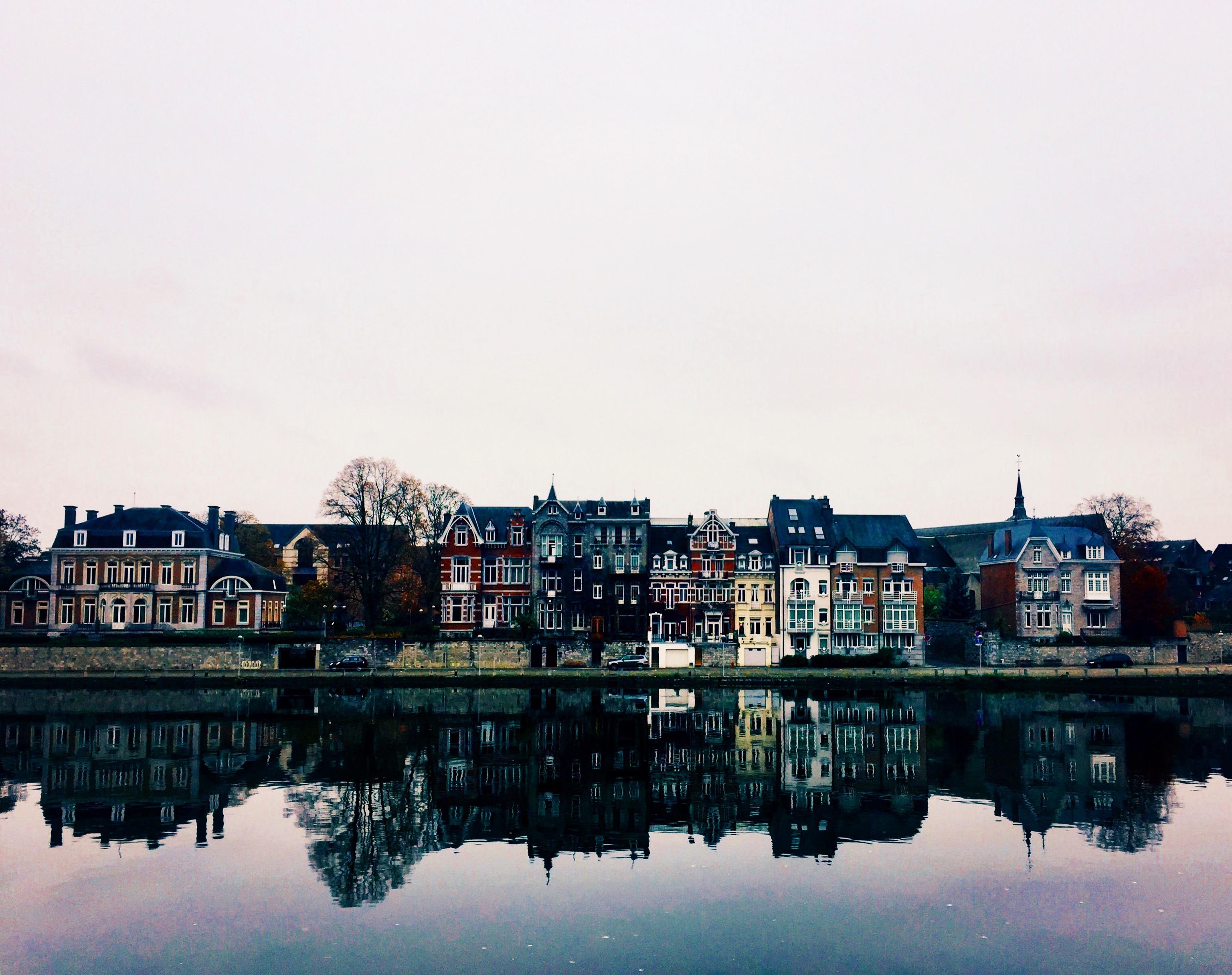 River Reflections in Belgium
