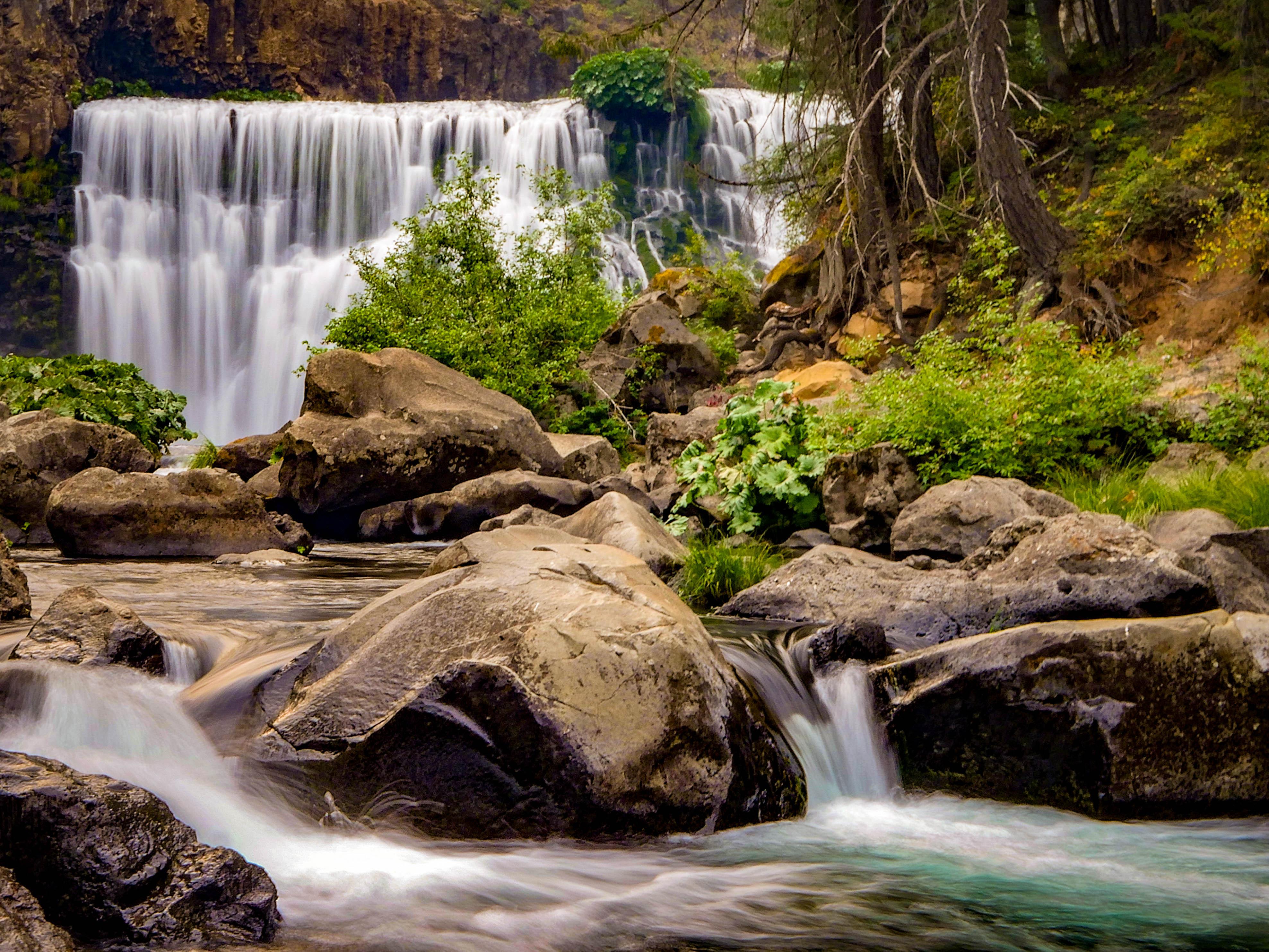 McCloud Falls in California