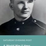 World War II hero story in Saturday Evening Post