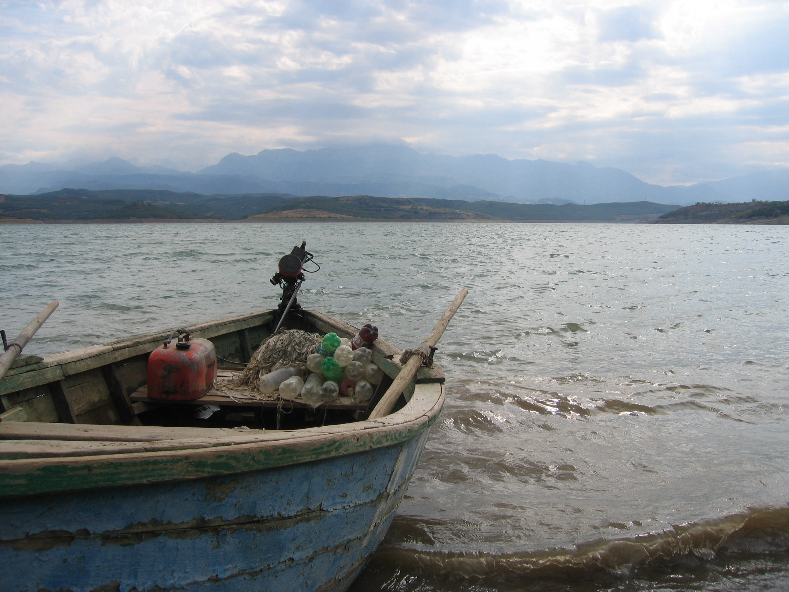Albanian Fisherman's Boat