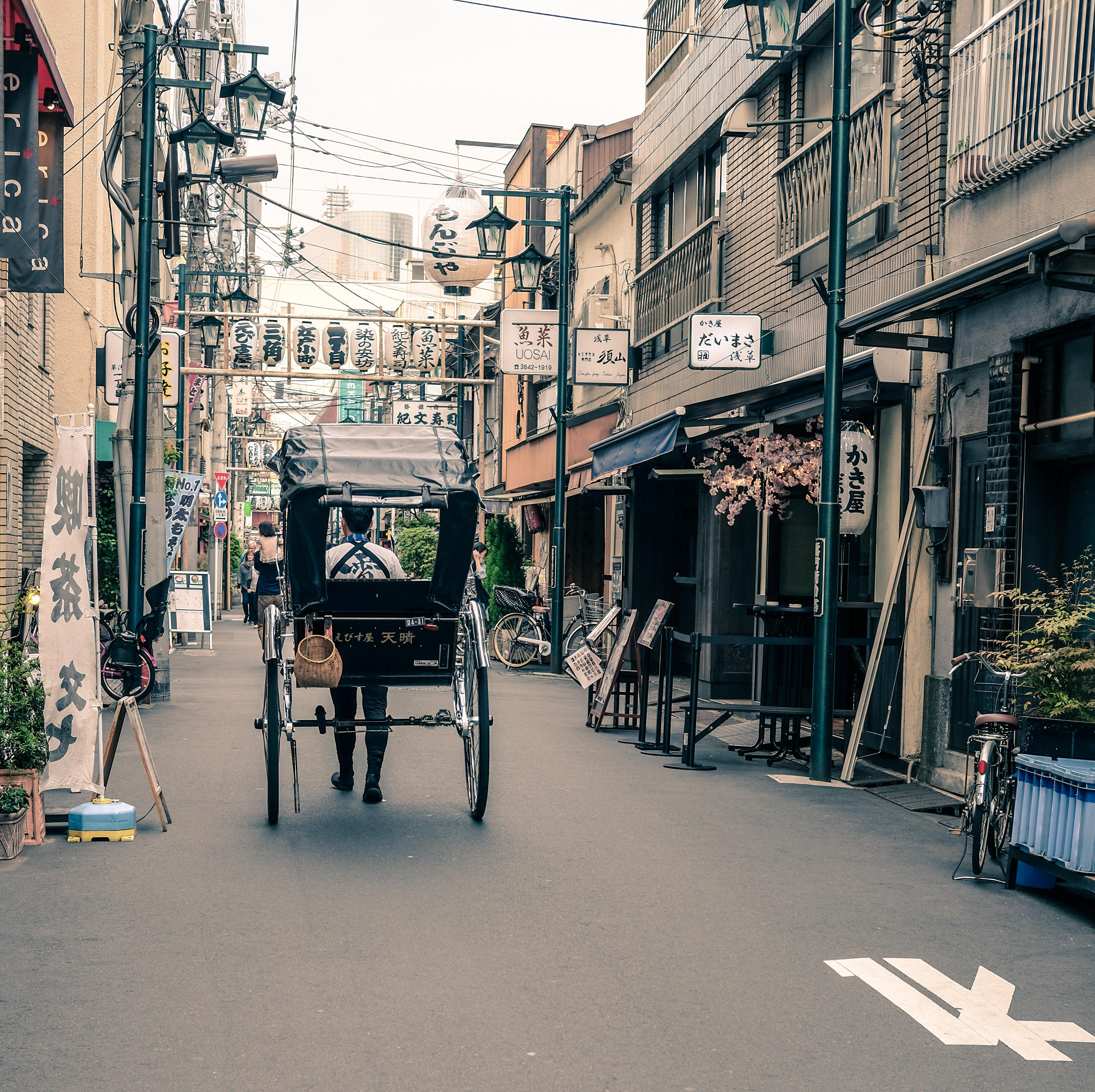 A piece of Edo in modern Tokyo