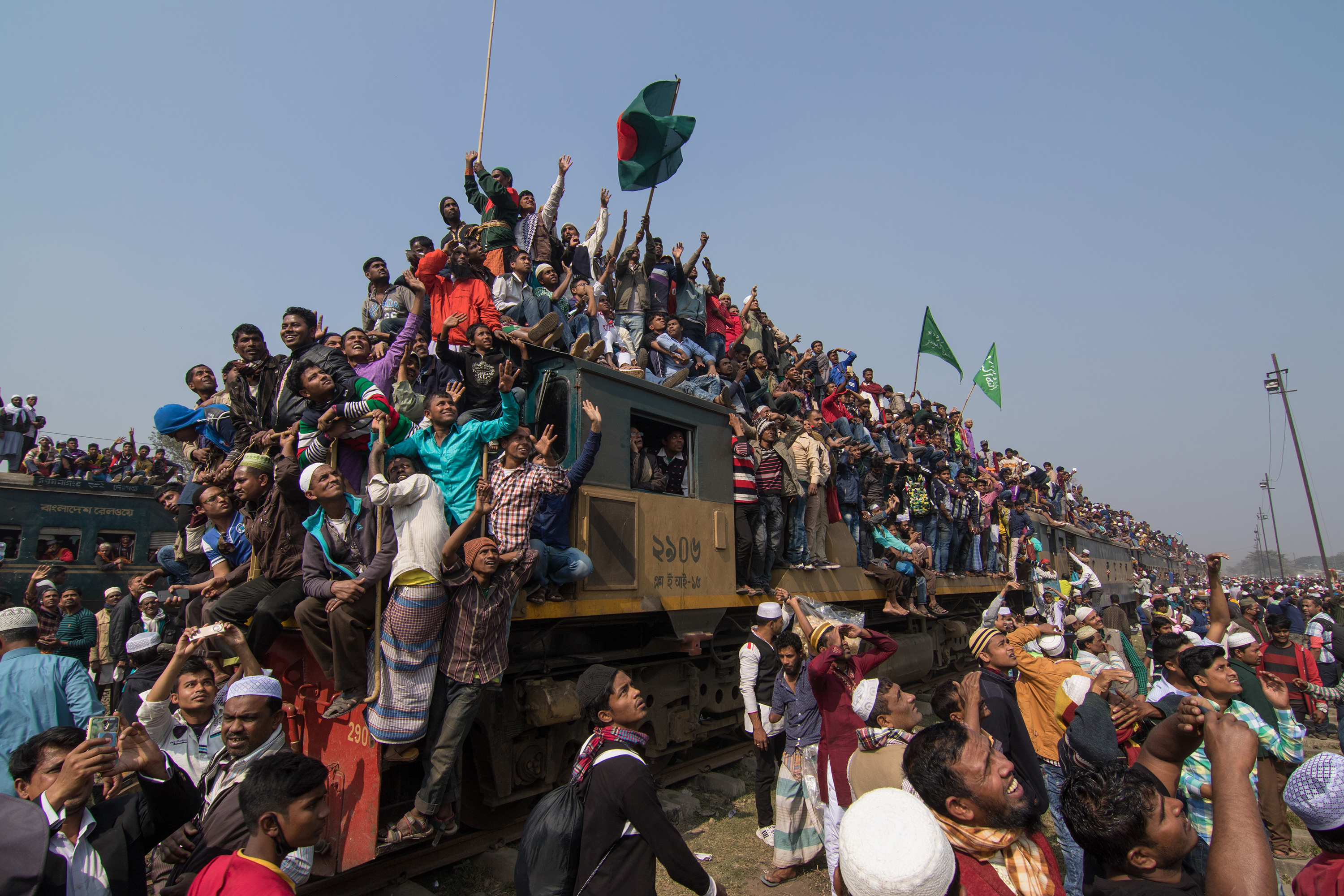 Journey by Train in Bangladesh