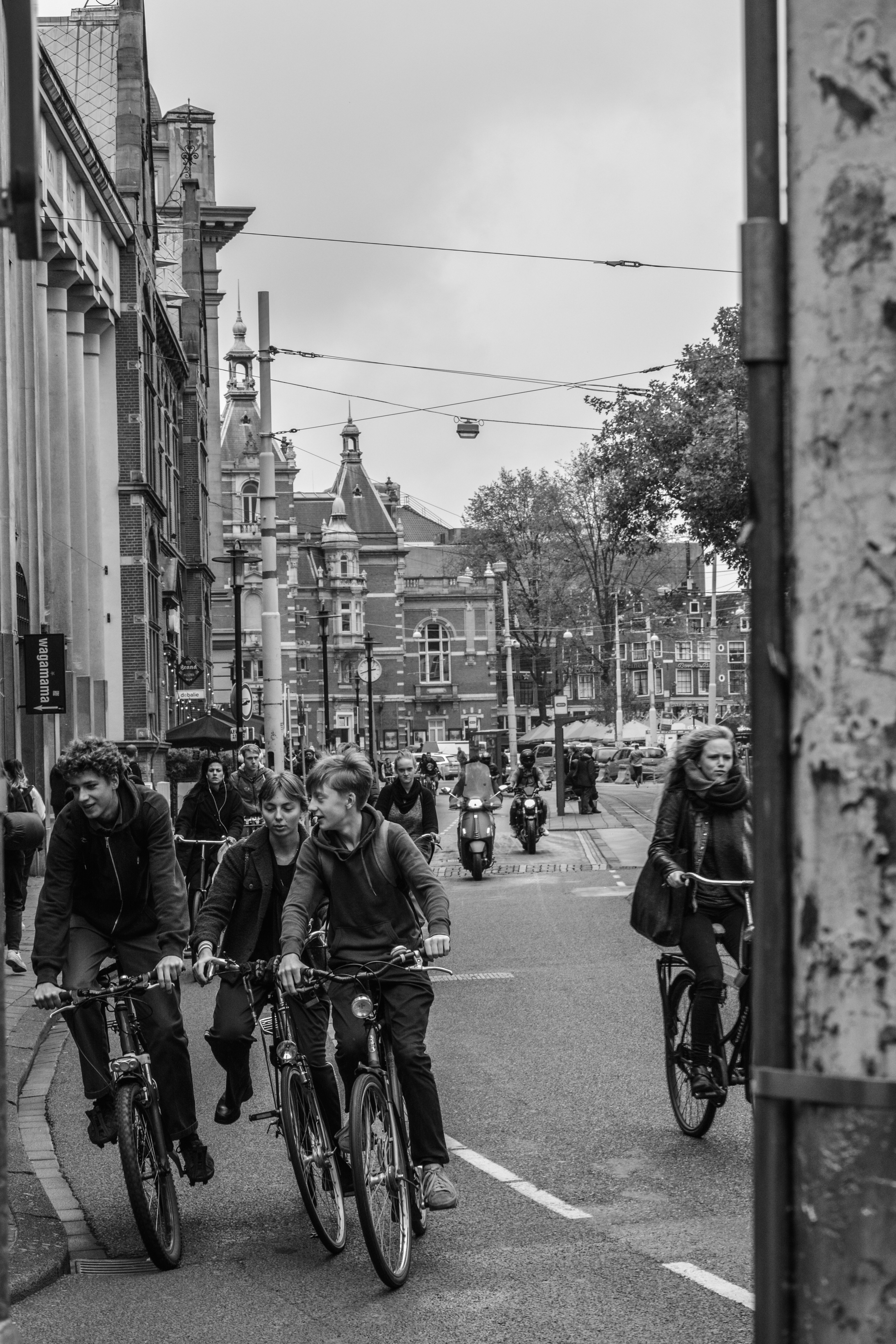Rush of the Streets in Amsterdam
