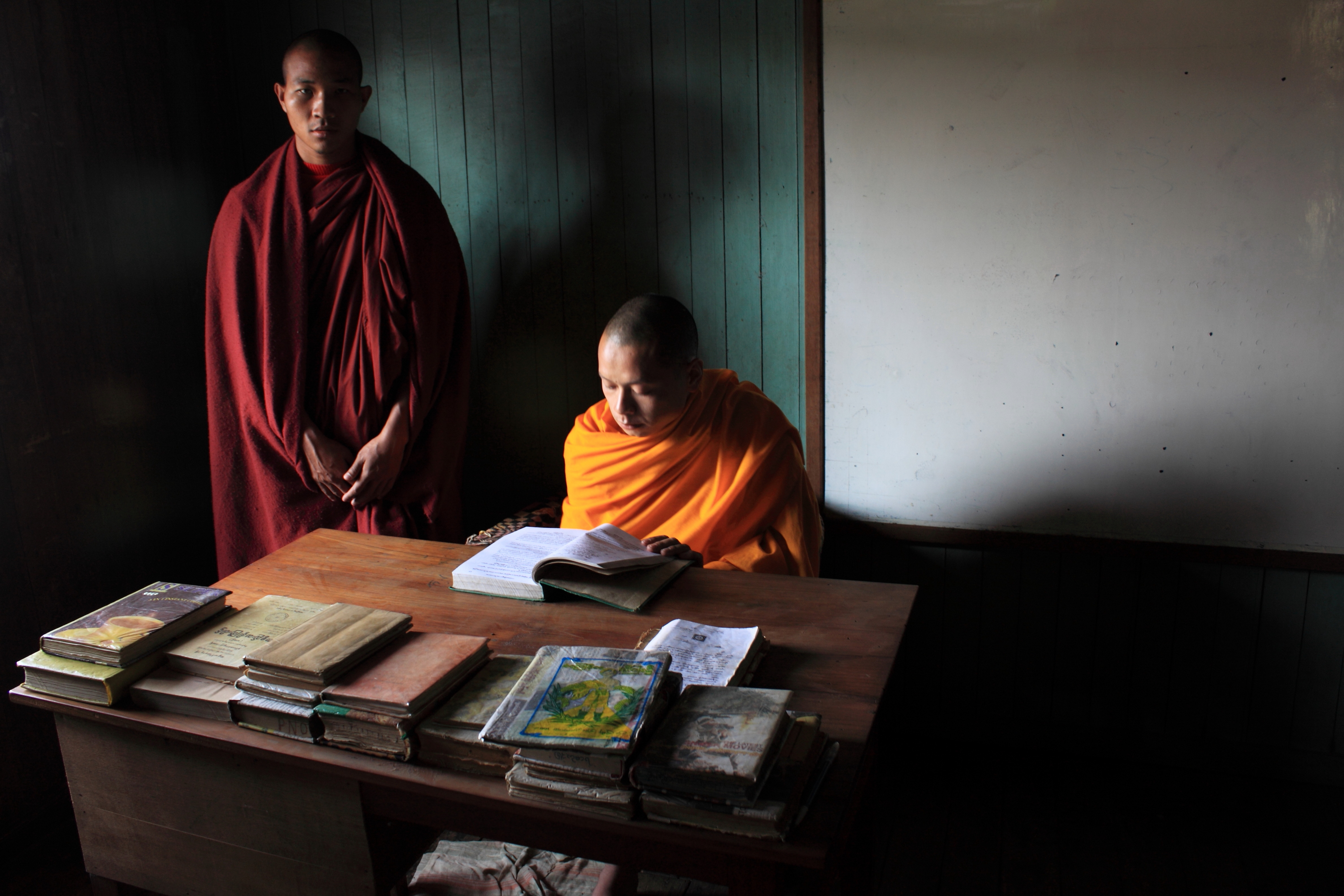 Young Buddhist Monk of Inle Lake