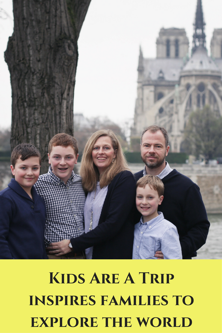 Kids Are A Trip inspires families to explore the world
