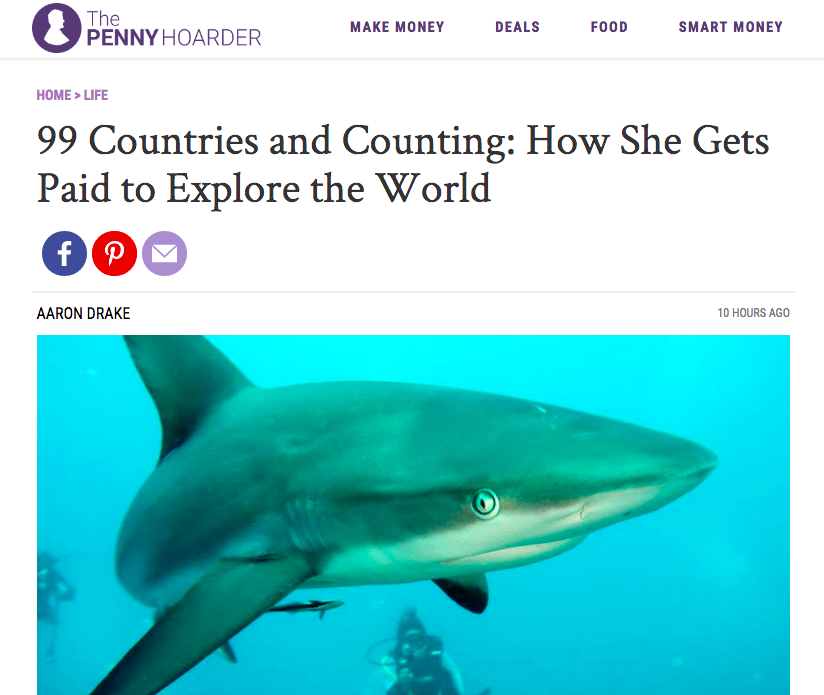 99 Countries and Counting: How She Gets Paid to Explore the World