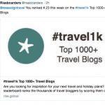 We Said Go Travel is #23 Travel Blog