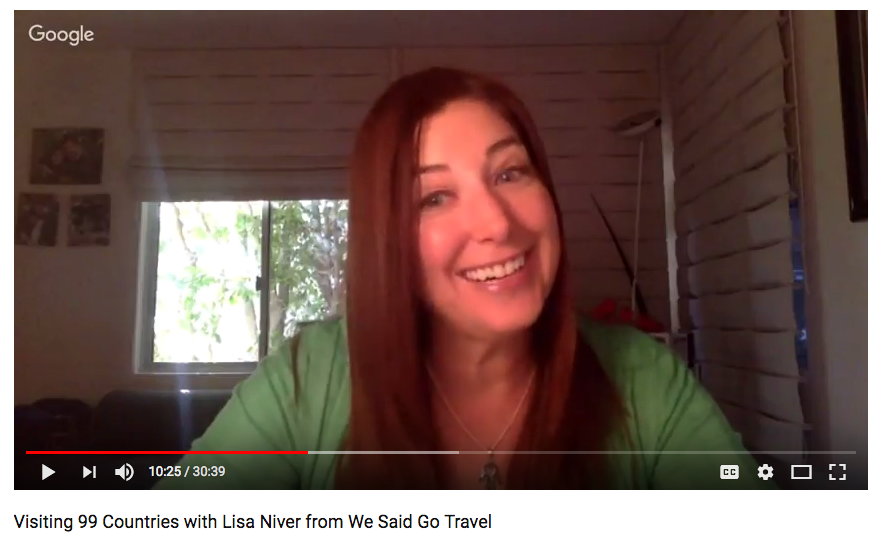 Who did Digital Nomad Mastery interview? WeSaidGoTravel!