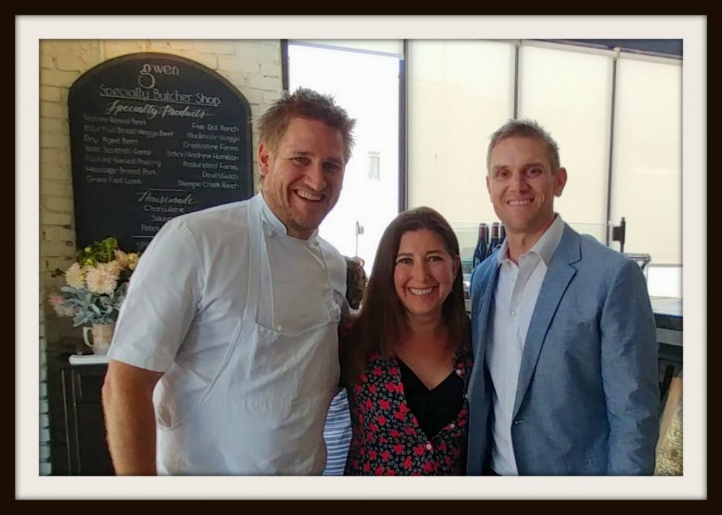 Curtis Stone Luke Stone Lisa Niver at Gwen