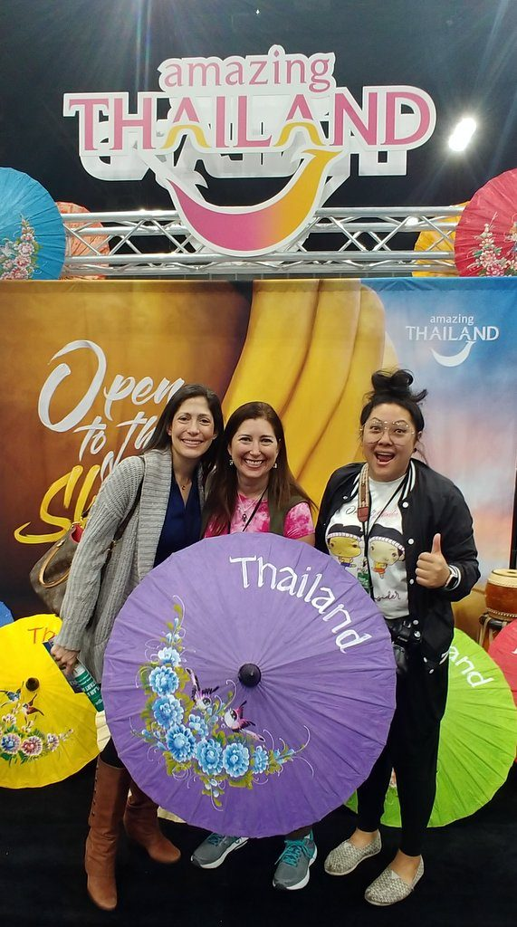 Lisa Niver at Travel Adventure Show 2018