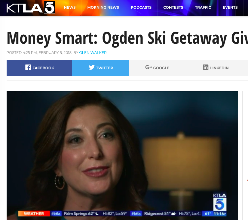 See Lisa Niver on KTLA TV