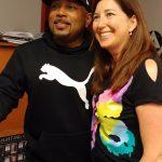 Lisa Niver with Shark Tank Star Daymond John